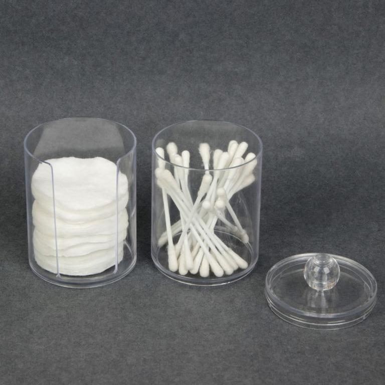Купить органайзер для косметических принадлежностей 2 секции 7 x 7 x 20 см
