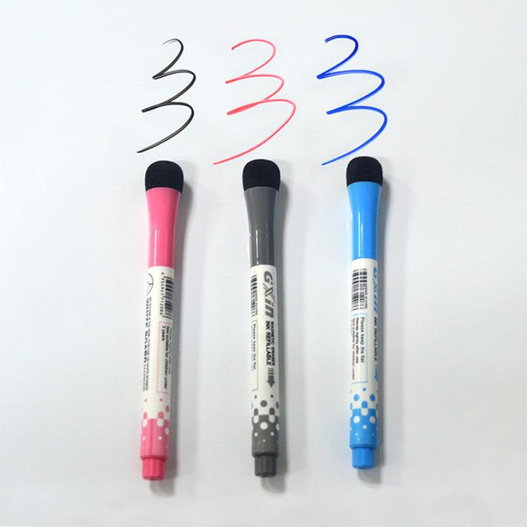 Купить маркер для магнитных досок красный 13,5 х 1,3 см