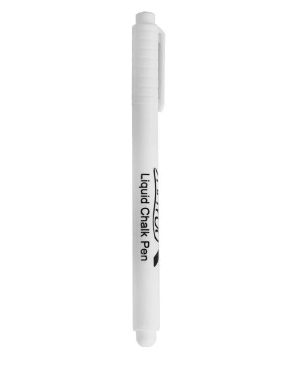 Купить маркер меловой 2 мм белый 13,5 см