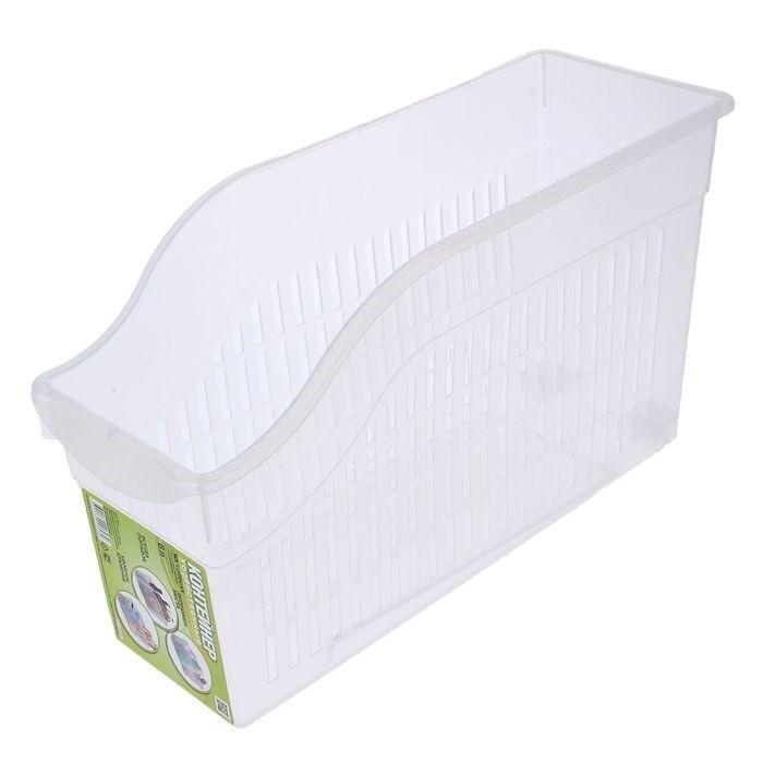 Купить набор контейнеров универсальных на колесах 6 л 3 шт белый 35 x 13 x 20 см
