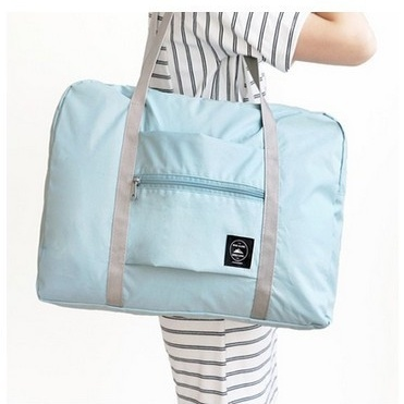 Купить складную сумку для путешествий голубой 48 х 16 x 32 см