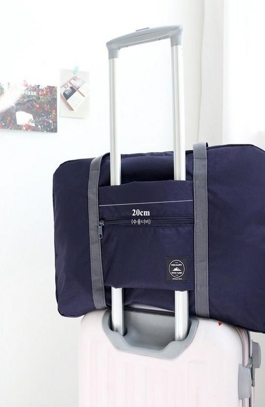 Купить складную сумку для путешествий синий 48 х 16 x 32 см