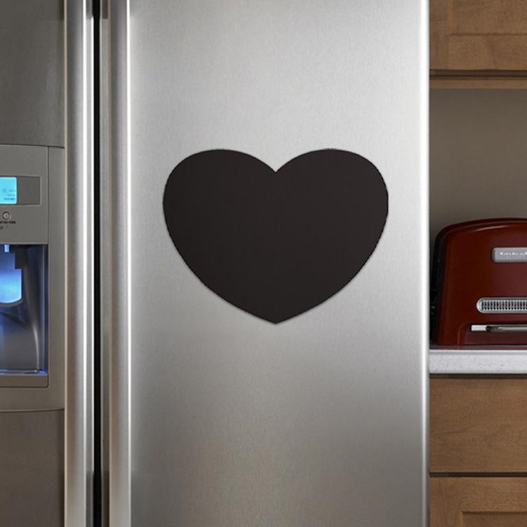 Купить грифельную магнитную доску Heart 40 x 27 см