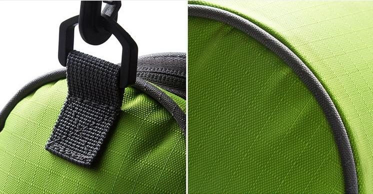 Органайзер-сумка на руль велосипеда, зеленый, 22 x 11 x 11 см