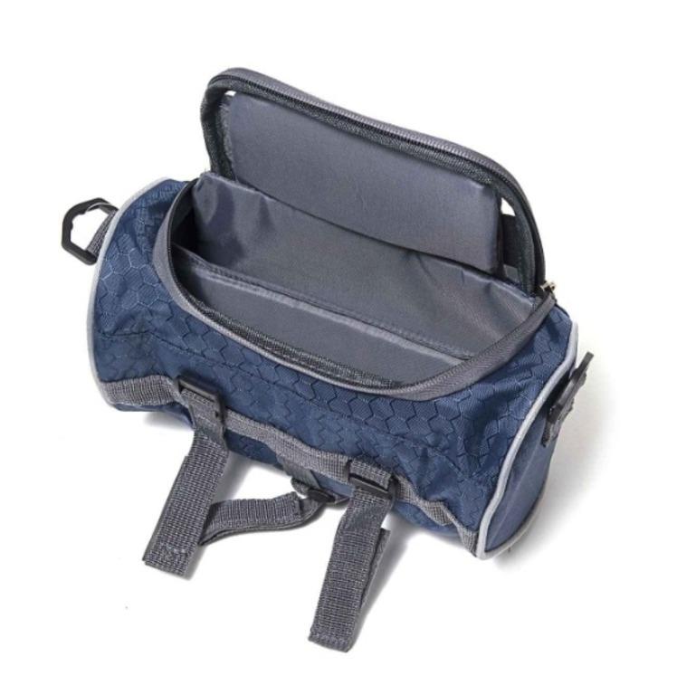 Купить органайзер-сумка на руль велосипеда синий 22 x 11 x 11 см