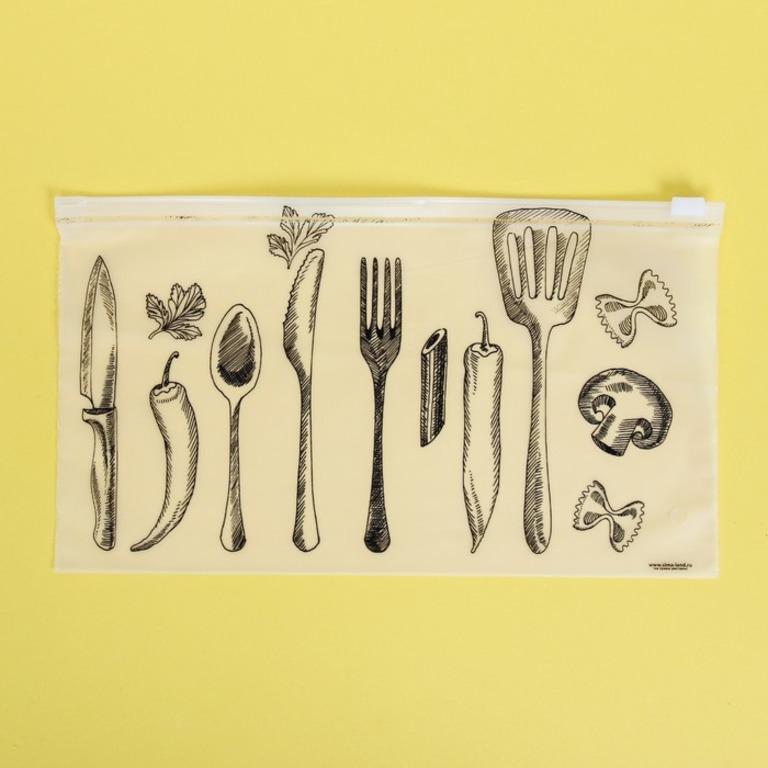 Купить пакет для хранения еды горизонтальный Gastronomy 25 x 14,5 см