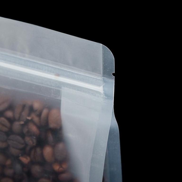 Купить комплект пакетов Zip-lock матовый с плоским дном 10 шт 28 х 18 см