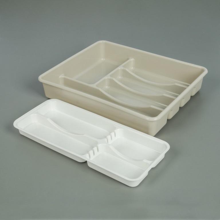 Купить лоток двойной для столовых приборов 37 x 30 x 7 см