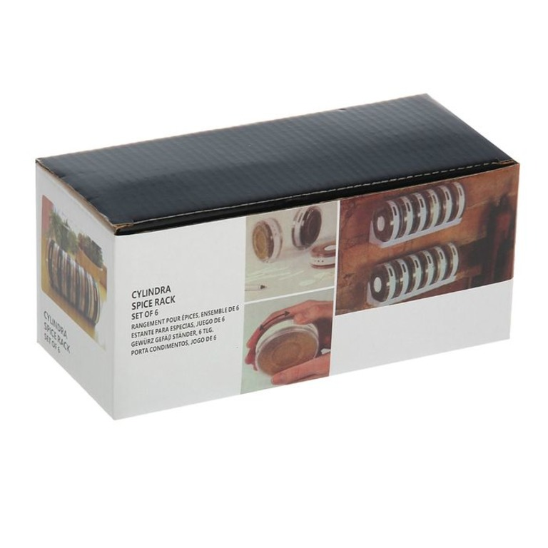Купить набор для специй Turbo 6 шт на подставке 19 x 8 x 9 см