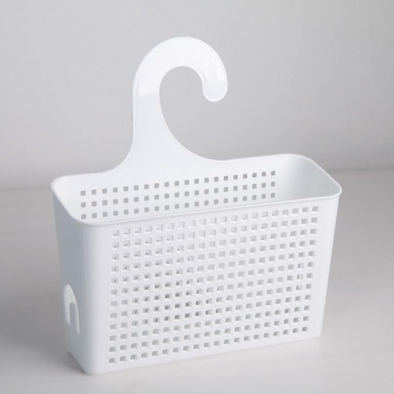 Купить контейнер навесной Loft с петлей белый 22 x 9 x 26 см
