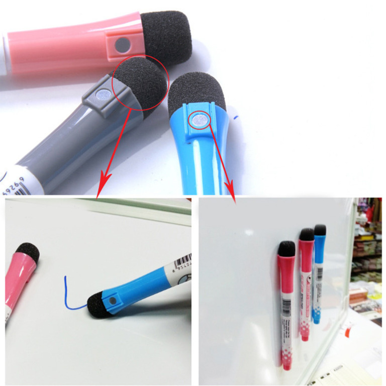 Купить маркер для магнитных досок синий 13,5 х 1,3 см