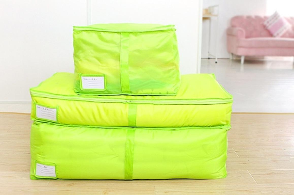 Купить чехол для вещей зеленый 80 х 45 х 29 см