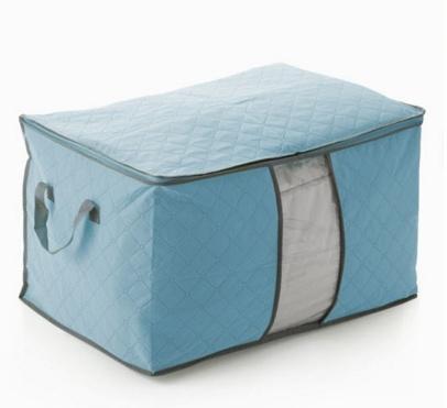 Купить чехол для постельного белья голубой 60 x 42 x 36 см