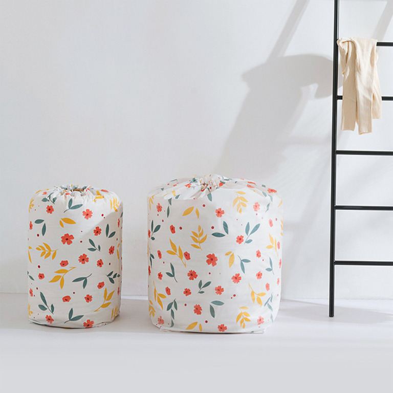 Купить чехол-цилиндр для постельного белья белый 32 x 32 x 70 см