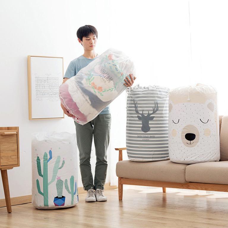 Купить мешок для хранения одежды Cactus белый 43 x 43 x 82 см
