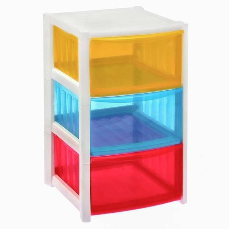 Купить комод трехсекционный Rainbow 37 x 36 x 58,7 см
