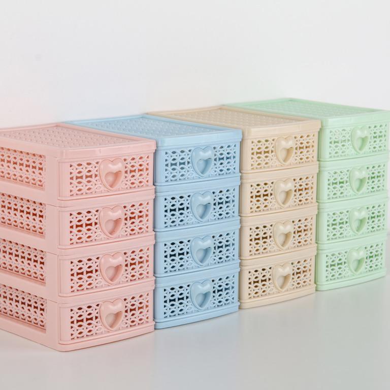 Купить мини-комод для мелочей Lovely 4 секции 9 x 12,5 x 15 см