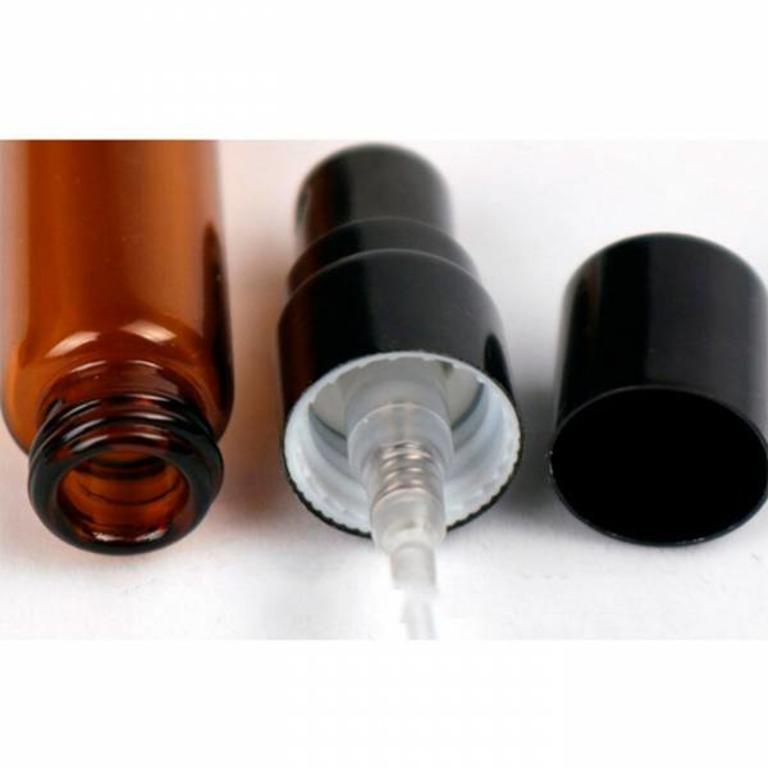 Купить атомайзер для духов коричневый 10 мл 9,5 x 1,6 см