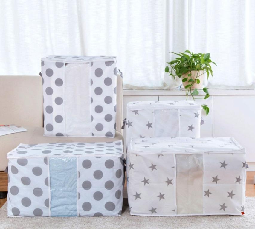 Купить кофр для постельного белья белый 60 x 40 x 36 см