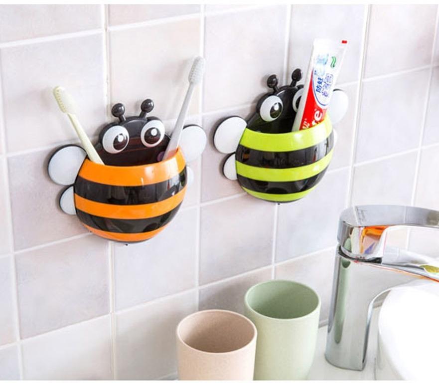 Купить держатель для зубной щетки Пчелка 17 x 15,4 x 5 см