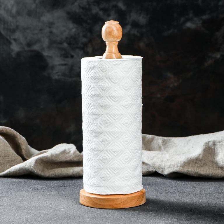 Купить держатель для бумажных полотенец Honey бежевый 12 x 5,5 x 29 см