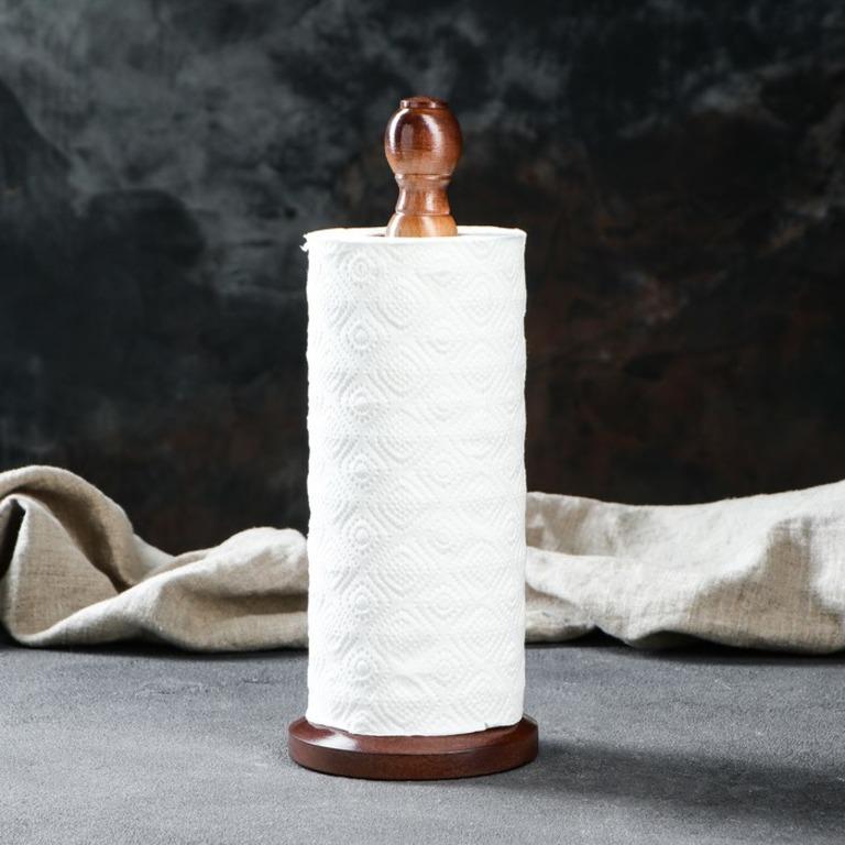 Купить держатель для бумажных полотенец Honey коричневый 12 x 5,5 x 29 см