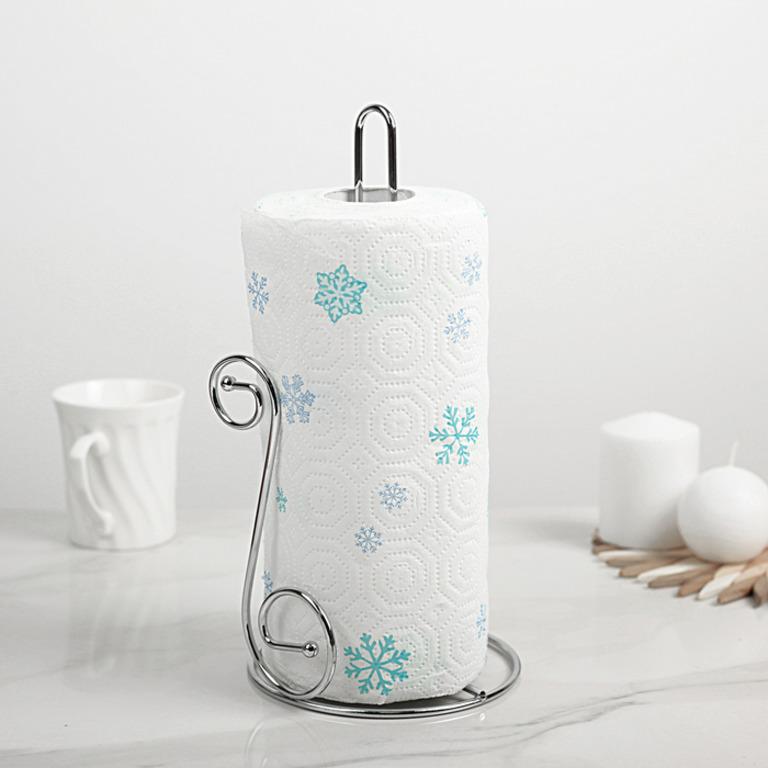 Купить держатель бумажного полотенца Завиток 14 x14 x29 см