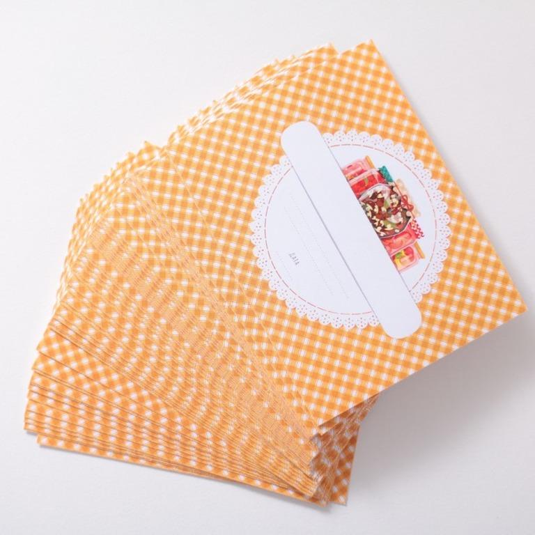 Купить набор этикеток для домашних заготовок Дары леса 10 шт 8 x 6 cм