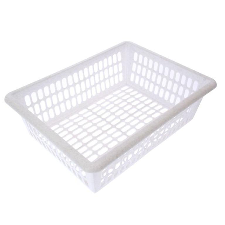 Купить этажерку напольную трехсекционную с выдвижными лотками белый 45 х 31 x 63 см