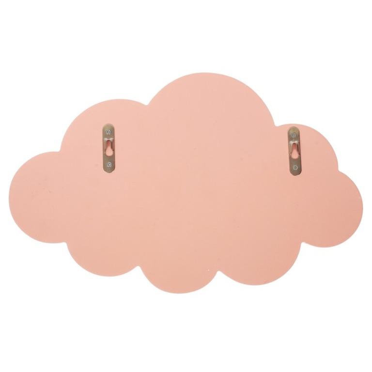 Купить полку детская «Lovely Cloud розовый 27 х 2 х 17 см