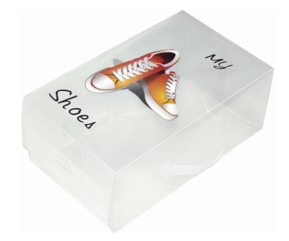 Купить коробку для обуви с принтом My Shoes 33 x 20 x 13 см