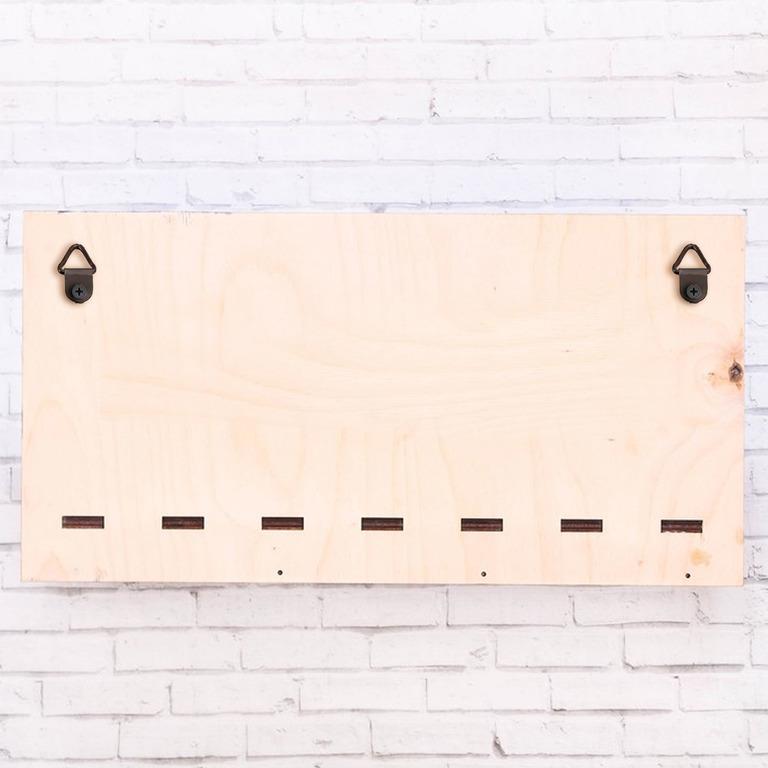 Купить полку для кухни Barista коричневый 35 х 10 х 18 см
