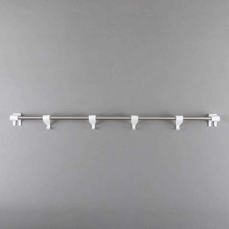 Купить набор рейлинг Престиж белый 59 х 5 х 5 см