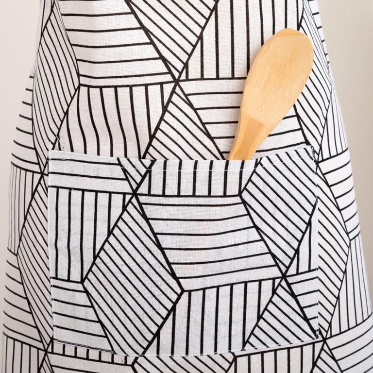 Купить набор Trend фартук прихватка варежка белый
