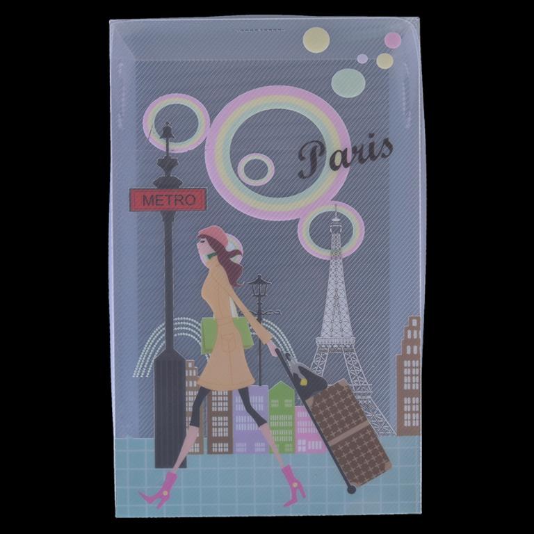 Купить короб для хранения с крышкой Paris 29,5 x 18,5 x 9,5 см