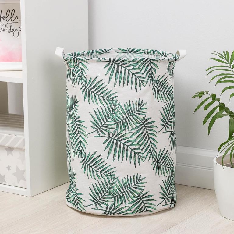 Купить корзину универсальную Tropic белый 35 x 35 x 45 см