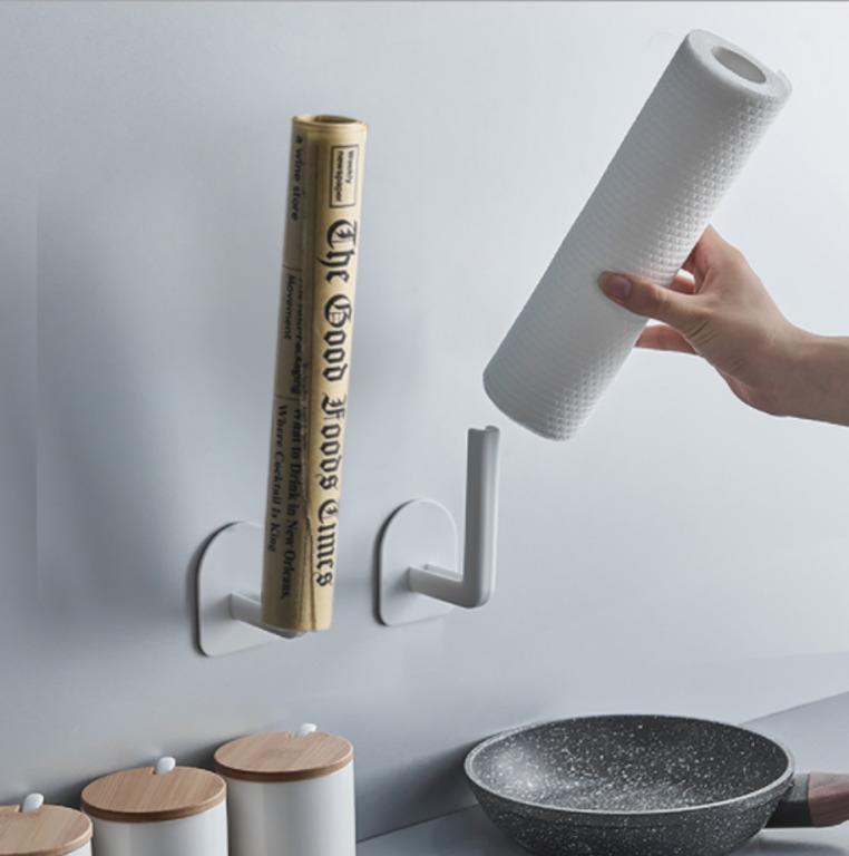 Купить набор универсальных кухонных крючков 2 шт белый 11,6 x 7 см