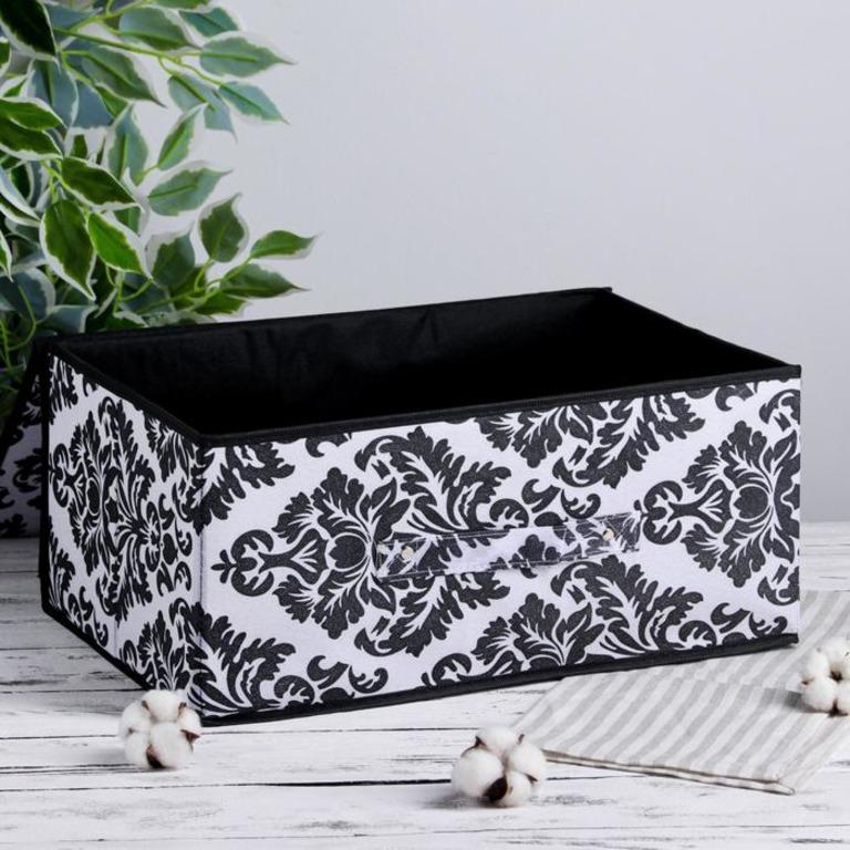Купить коробку для хранения с крышкой Барокко 45 х 30 х 20 см