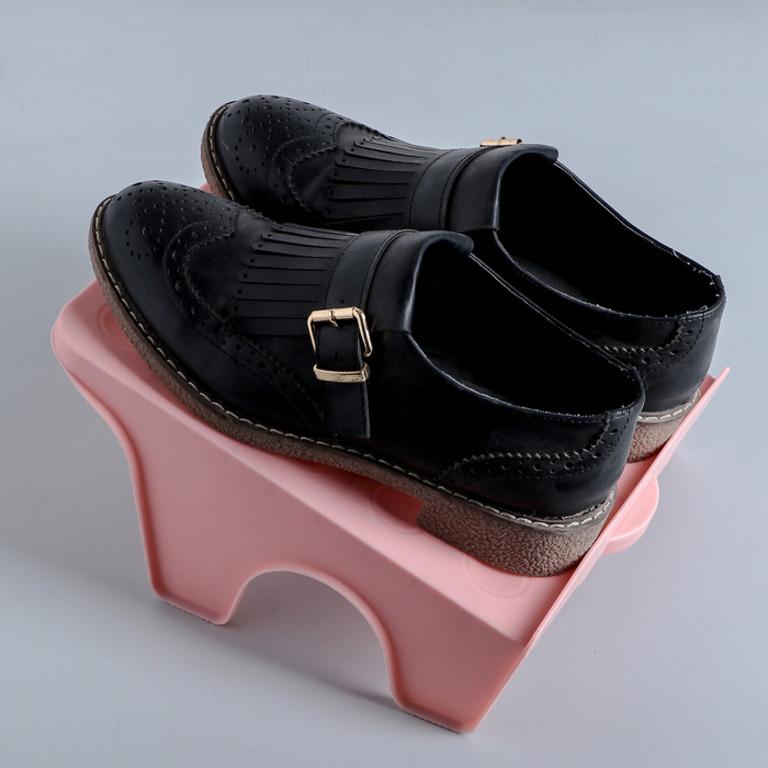 Купить подставку для обуви на две пары 26 х 21 х 12 см
