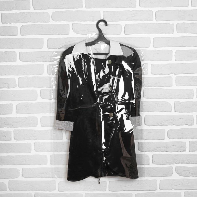 Купить чехол для одежды прозрачный 12 мкм 52 x 120 см