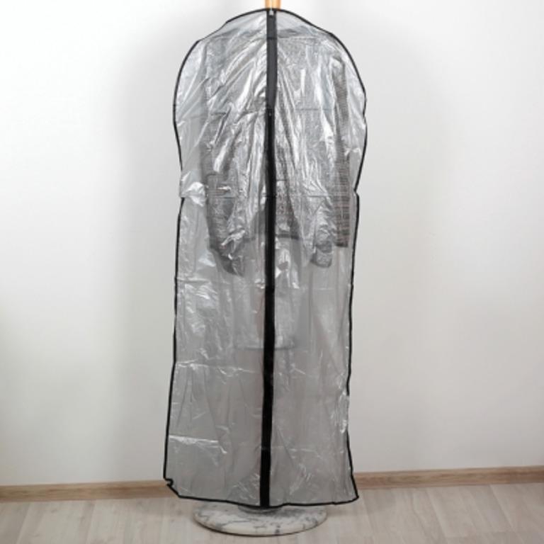 Купить набор прозрачных чехлов для одежды 5 шт 160 x 60 см
