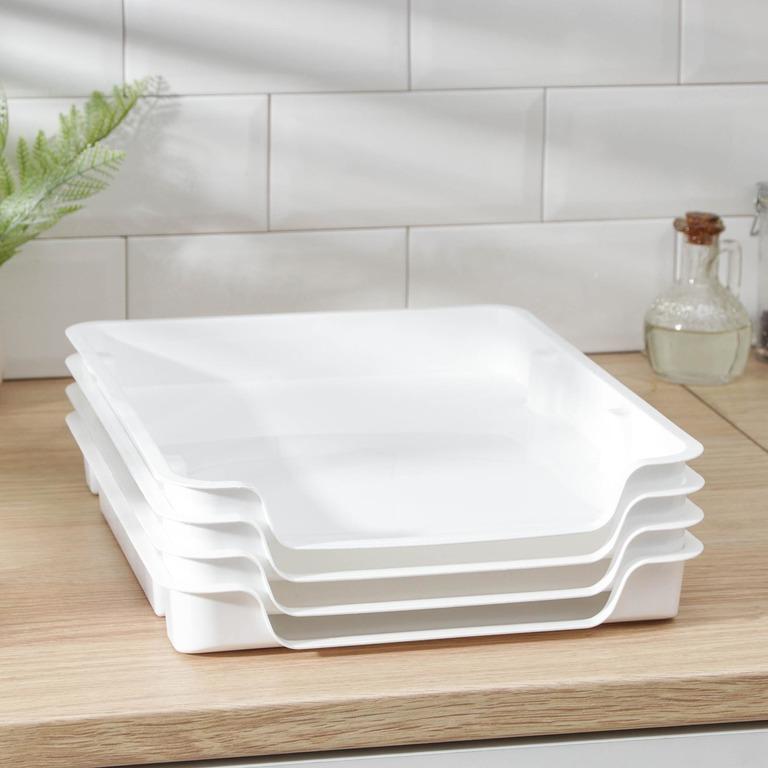 Купить лоток для заморозки продуктов 4 шт 29 х 34 х 4,5 см