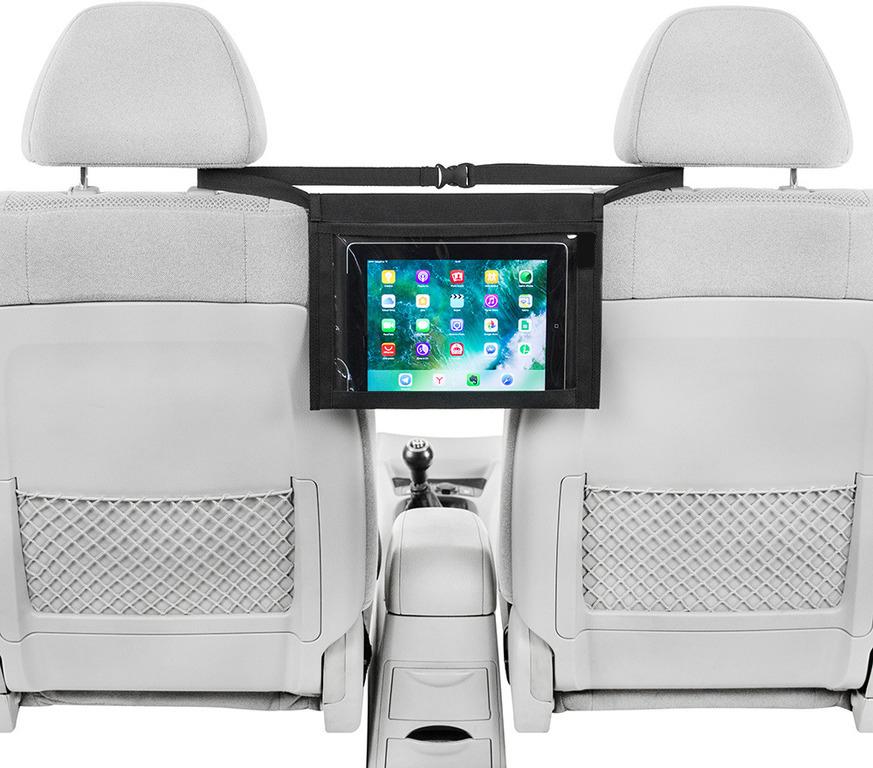 Купить держатель планшета между сиденьями черный 32 х 24 см