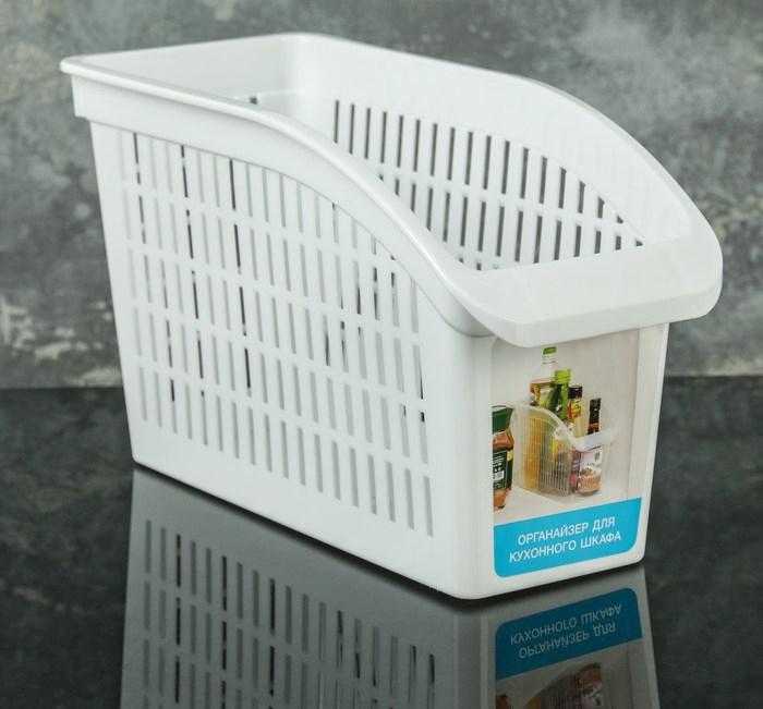 Купить корзину хозяйственную белый 29 х 13 х 17 см