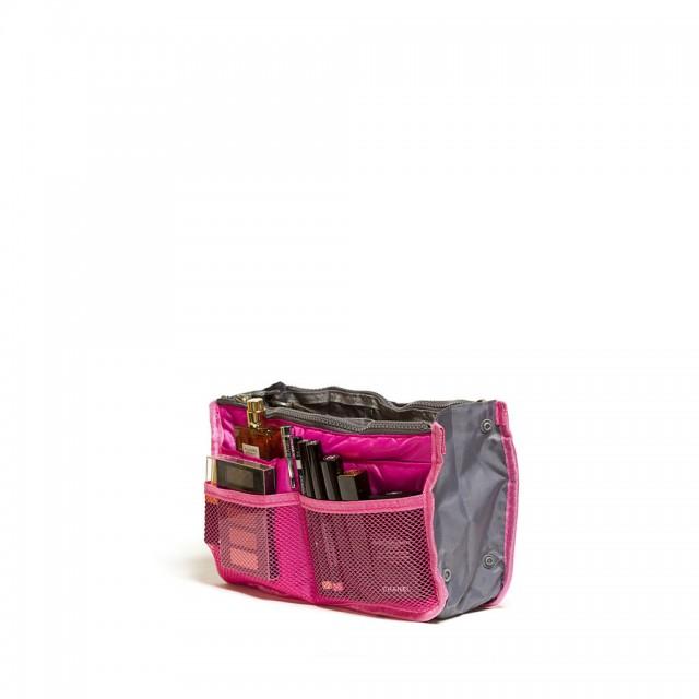 """Органайзер для сумки """"Chelsy"""", темно розовый, 28,5 х 8,5 х 18,5 см"""