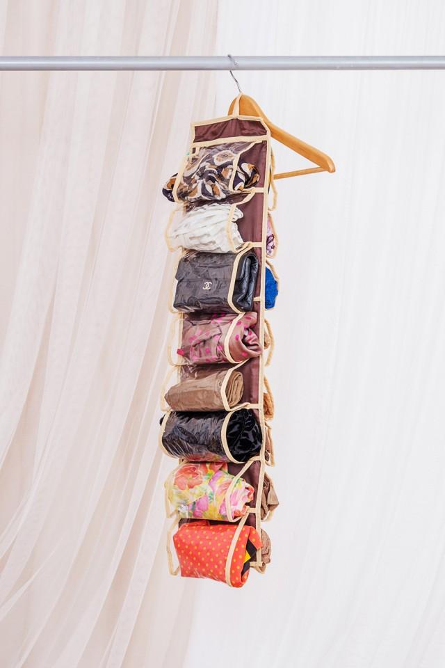 """Органайзер для колготок, шарфов, очков и мелочей """"Costa-Rica"""", 20 х 80 см"""