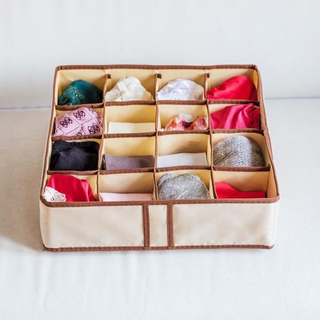 Купить комплект из трех органайзеров на 38 боксов Bora-Bora 35 х 35 х 10 см