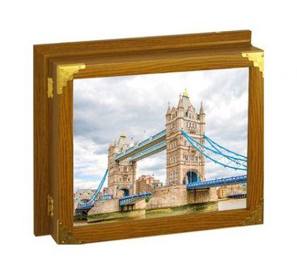 "Настенная ключница ""Тауэрский мост"", 20 x 25 см"