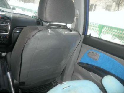 Защитная накидка на сиденье от детских ног, прозрачная, 46 x 68 см