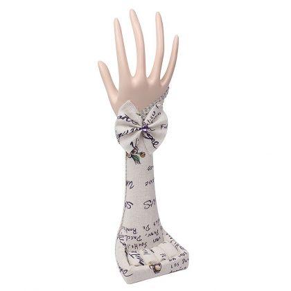 Подставка для украшений Рука, надписи